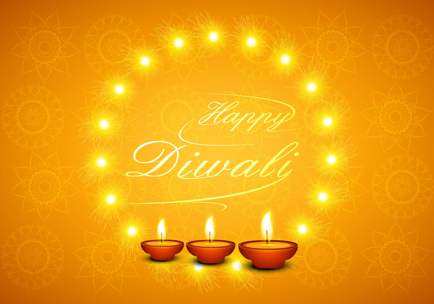 happy-diwali-greeting-card-with-glowing-diyas-vector