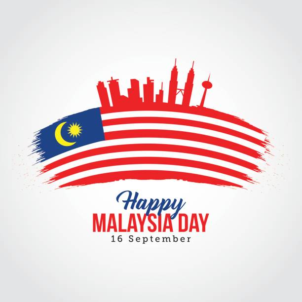 Happy Malaysia Day Vector Illustration